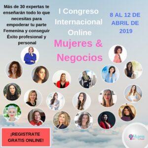Cartel Congreso Mujeres & Negocios