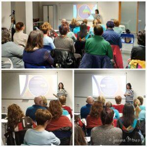 Collage de fotos del taller 5 de Desarrollo Personal de 25/03/2019